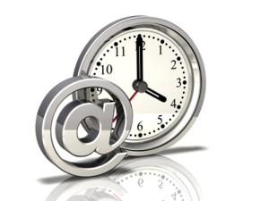 tijd en email